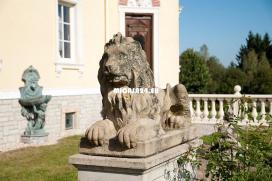 HA804 - Exklusive Schlossvilla mit Oldtimergaragen bei Hof in Oberfranken Bayern 3 / 14